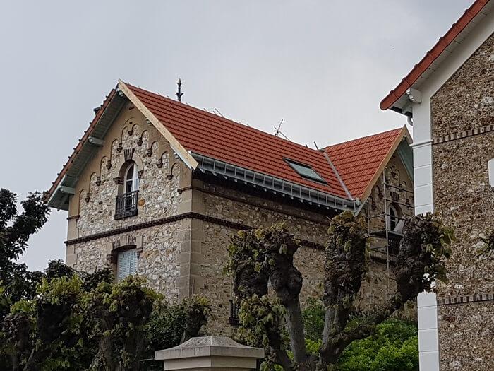 Réfection de toiture maison ancienne Neuilly sur Marne
