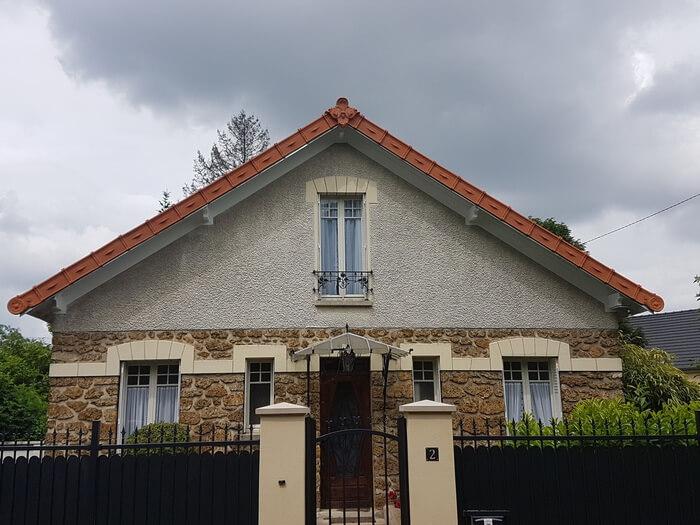 toiture fronton ornemental Val de Marne