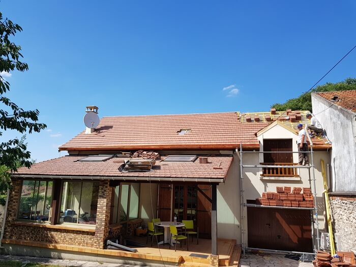 Réfection toiture basse et haute / Couvreur 94 / Ma Belle Toiture