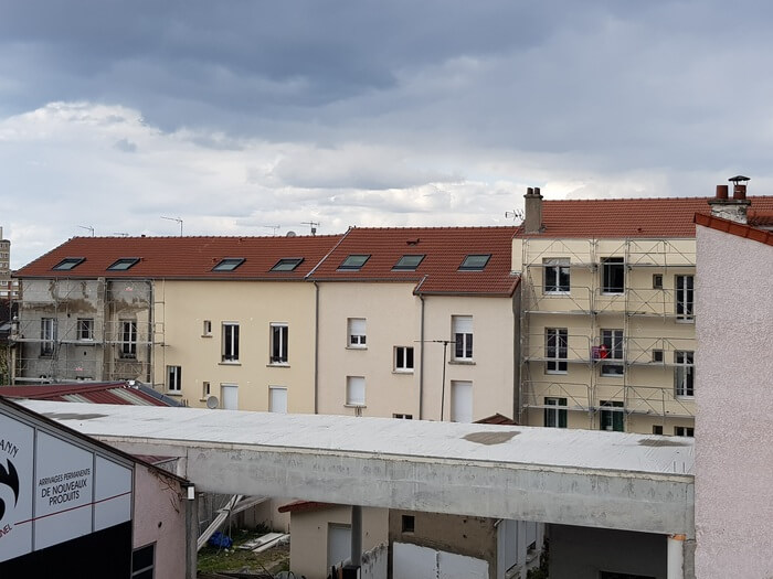 Réfection de tuile H14 à Aubervilliers