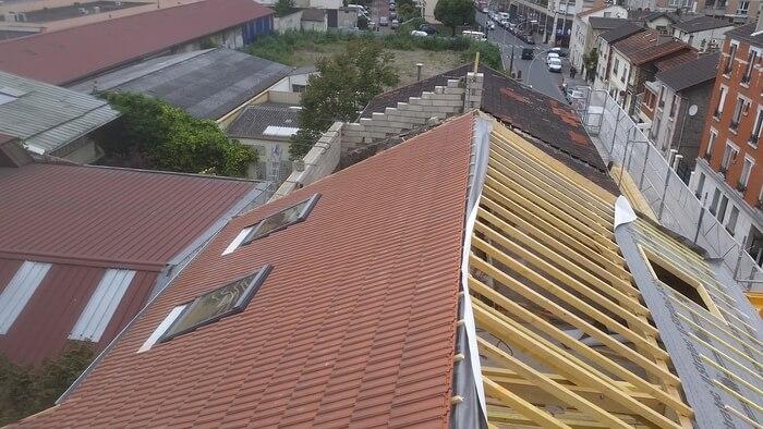 Réhaussement de toiture / Couvreur 94 Ma Belle Toiture