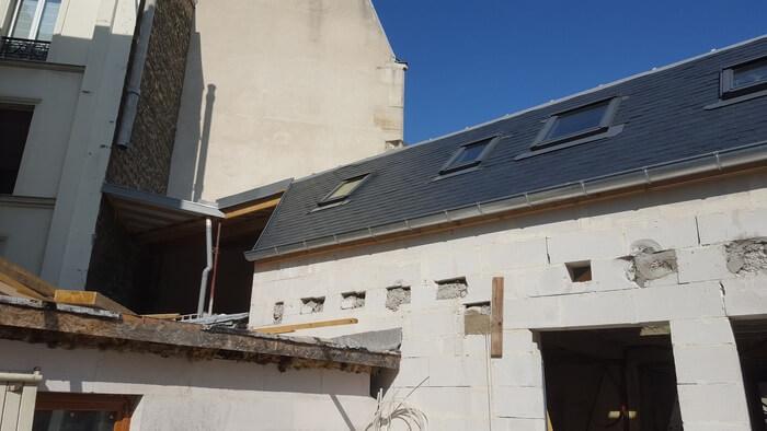 Rehaussement toiture en ardoise / Couvreur 94 Ma Belle Toiture Choisy-le-Roi