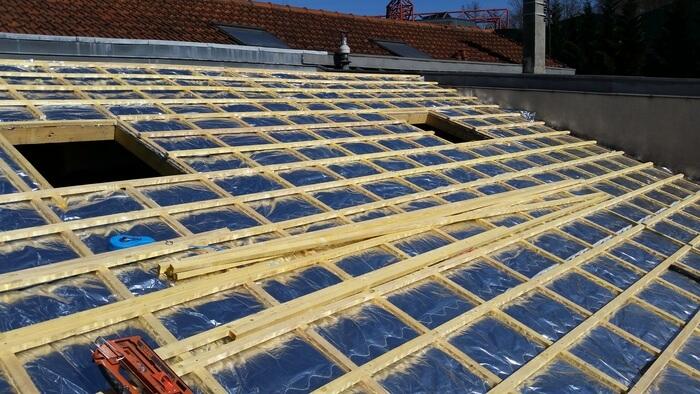 Isolation mince de toiture 94