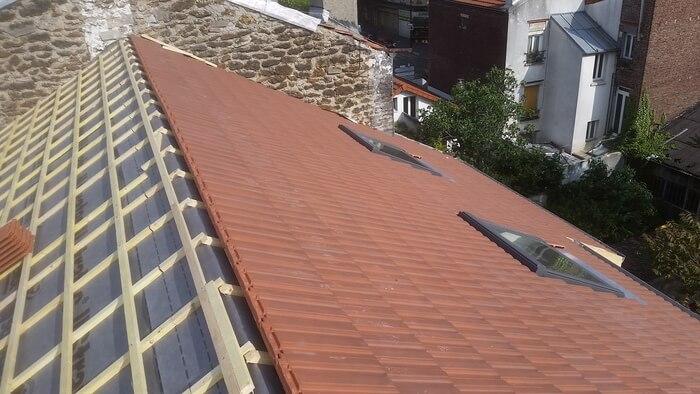 Changement Liteaunage de toiture
